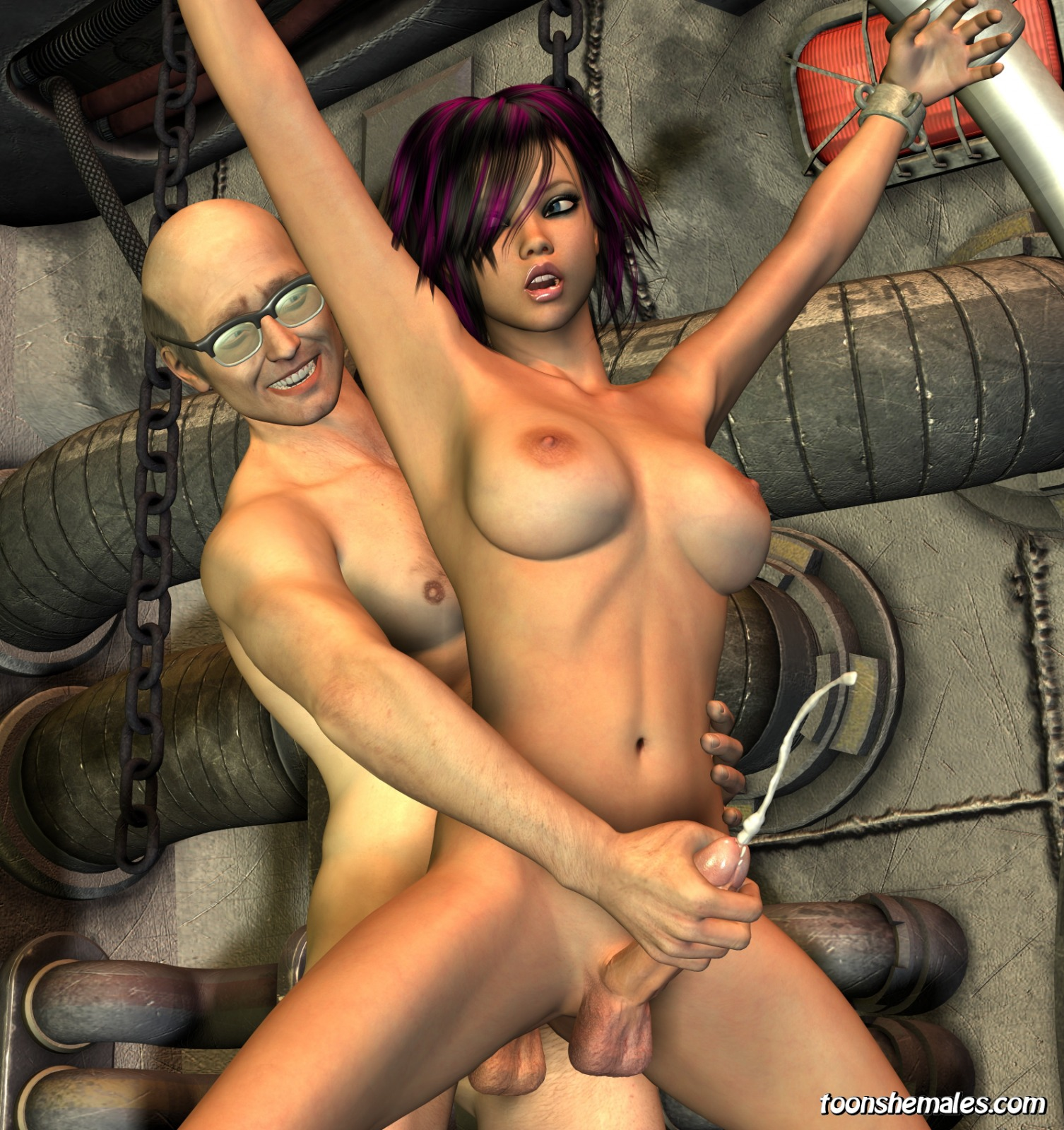 Zombie shemales fuck girls exploited photo